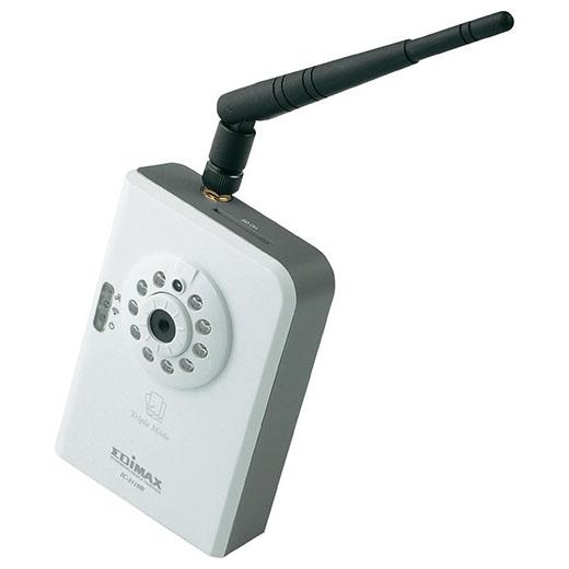 Câmara IP C/Detector Movimentos S/ Fios Edimax IC-3110W
