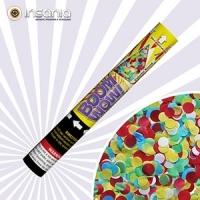 Canhão de Confetes Boom Wow Coloridos