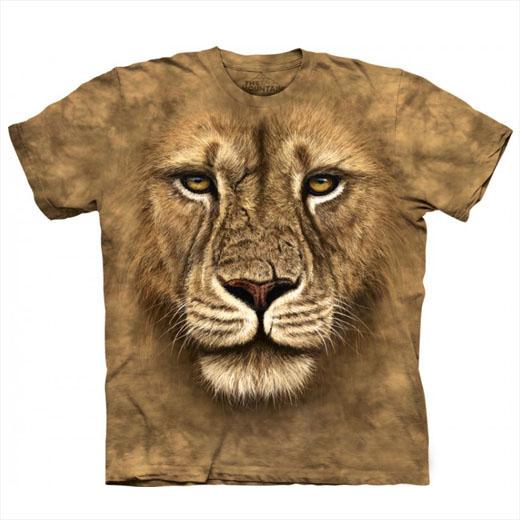 T-shirt Face Leão Guerreiro