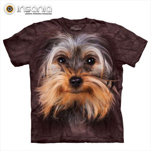 Camiseta Face Yorkshire Terrier