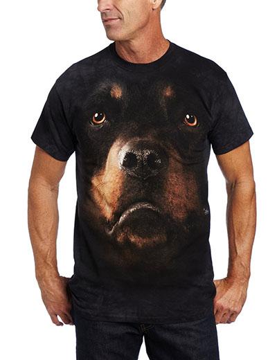 T-Shirt Face Rottweiler