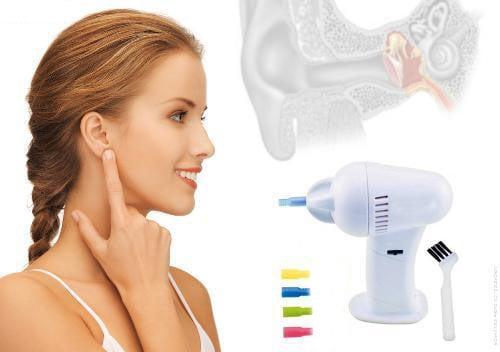 Aspirador Limpa Ouvidos