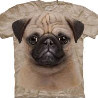 T-Shirt Face Pug