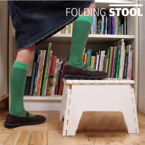 Banco Dobrável Folding Stool