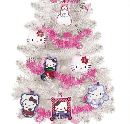 Árbol de Navidad Hello Kitty con Adornos