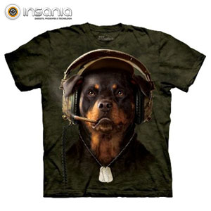 T-shirt Face DJ Sarge
