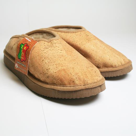 Zapatillas en Corcho y Lana Natural