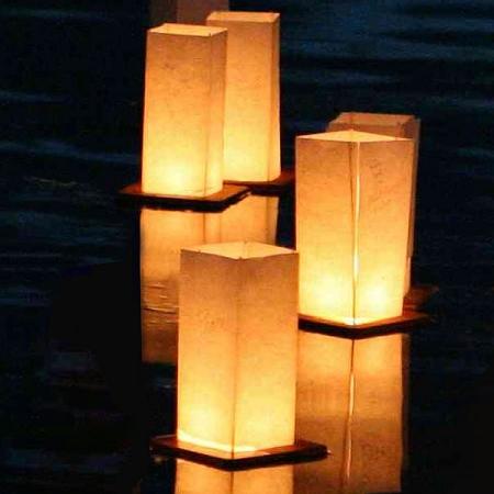 Linternas Flotantes