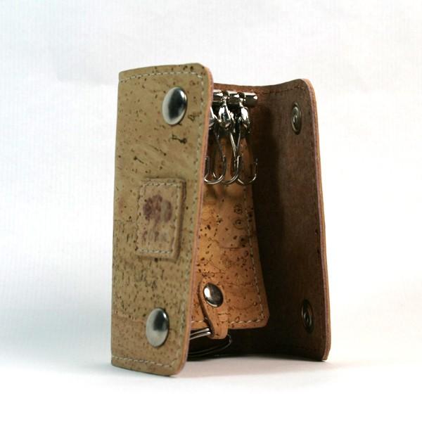 Porta-chaves 6 Ganchos em Cortiça