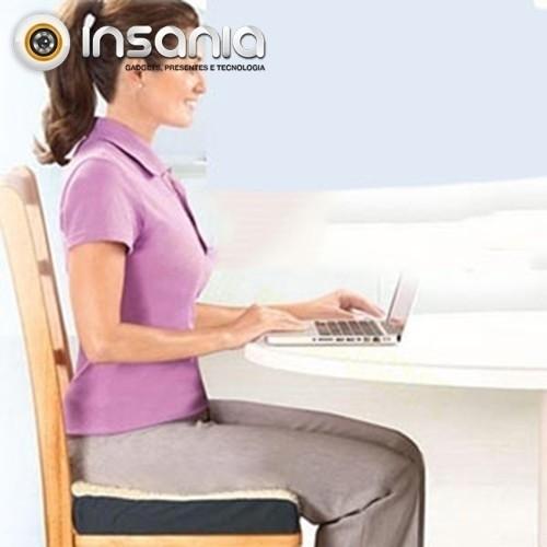 Almofada de Gel e Espuma para Cadeira