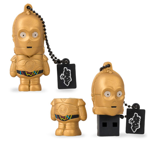 Tribe Pen Drive Star Wars C-3PO 8GB