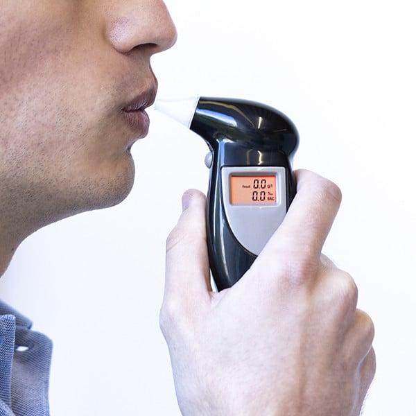 Teste de Álcool Digital 2