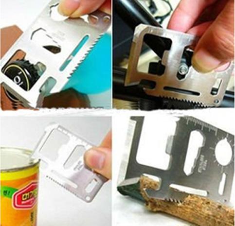 Cartão Multifunções Canivete