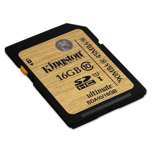 Tarjeta SD Kingston 16GB