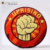 Placa Metálica Vintage Uprising