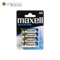 Pilhas Alcalinas Maxel AA (Pack 4)