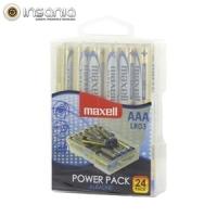 Pilas alcalinas Maxell AAA (pack de 24)