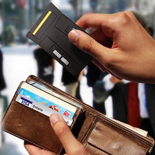 Gilete Cartão de Crédito