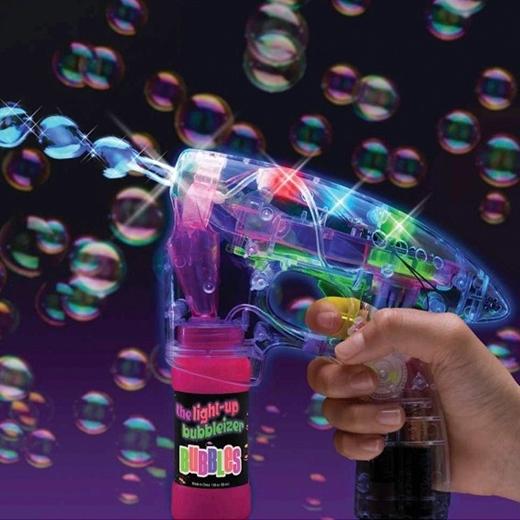 Pistola de pompas de jabón