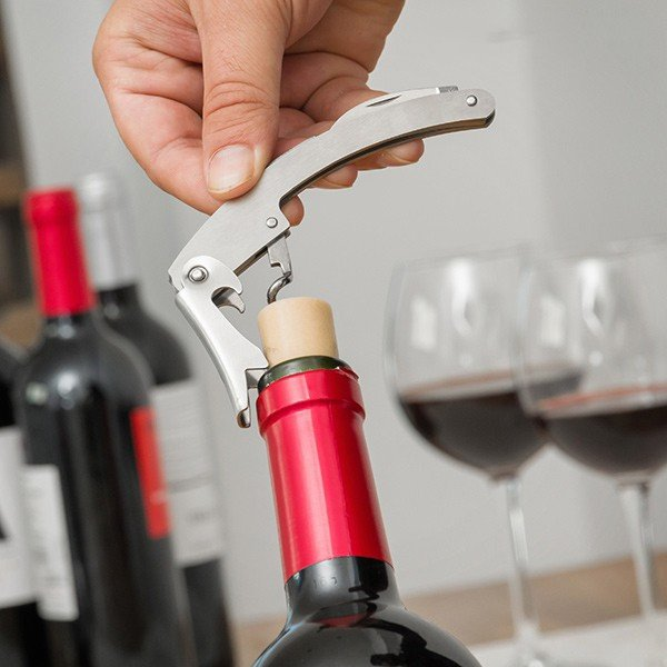 Estojo de Vinho Garrafa (5 peças)