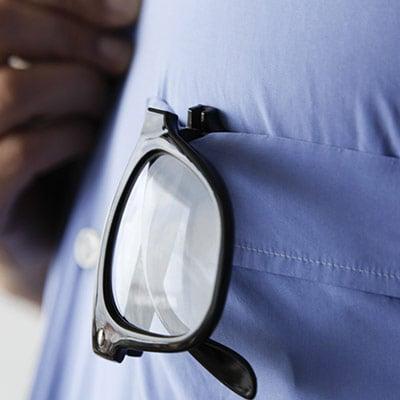 Gafas Plegables para Leer Retro