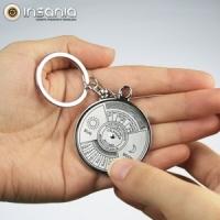 Porta-chaves Calendário 50 Anos