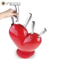 Juego de Cuchillos Corazón