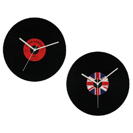 Relógio Disco Vinil