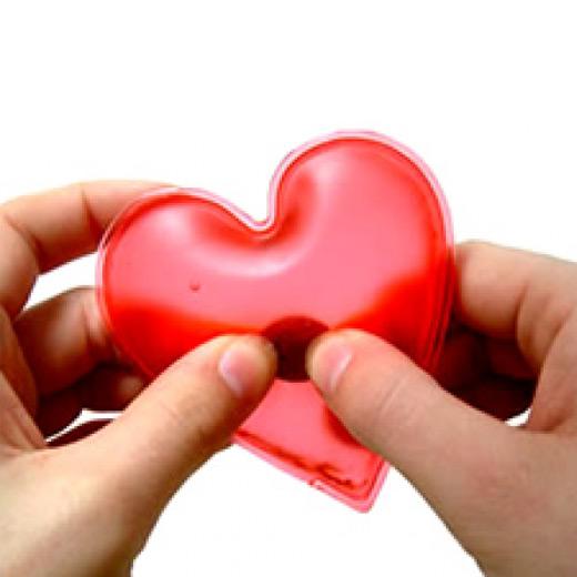 Aquecedor de Mãos Coração