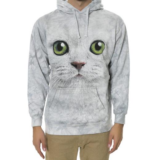 Sudadera Cara de Gato Ojos Verdes