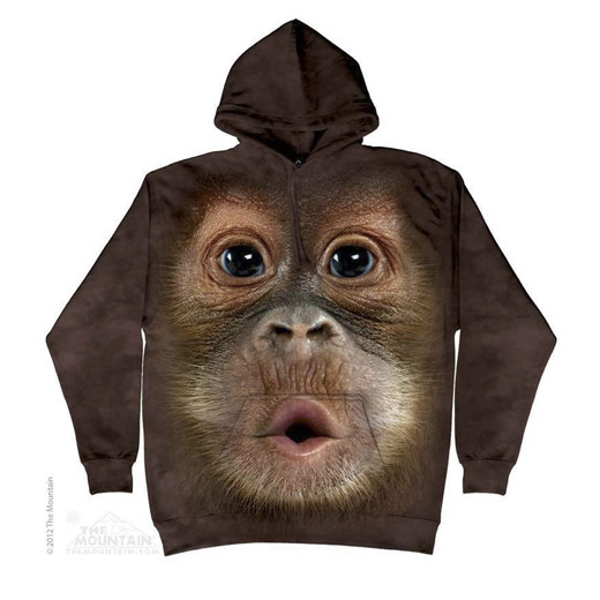 Sweat Face Orangotango Bebé