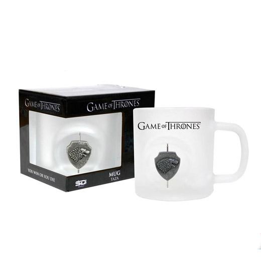 Game of Thrones: Taza Stark 3D Logo