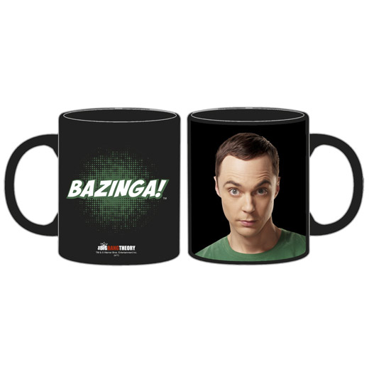 The Big Bang Theory: Caneca Sheldon Cooper Bazinga
