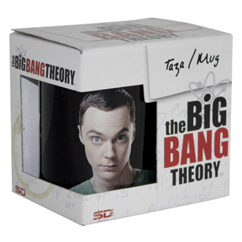 The Big Bang Theory: Taza de Sheldon Cooper y Bazinga