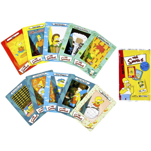 Cartas e Viewer Simpsons