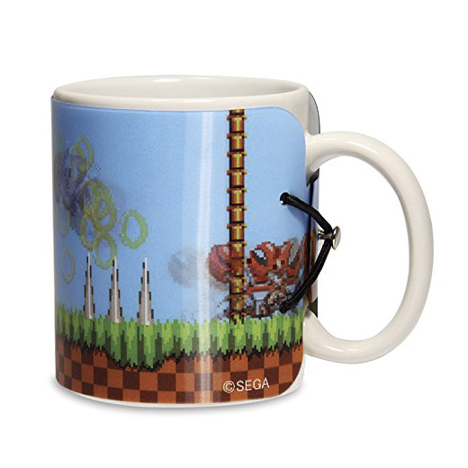 Caneca Sonic The Hedgehog 3D