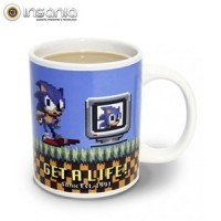 Caneca Sonic The Hedgehog Get A Life