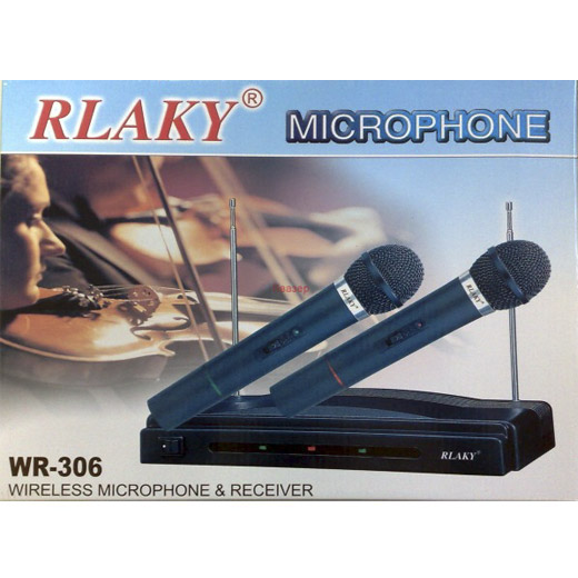 Micrófonos Inalámbricos y Receptor