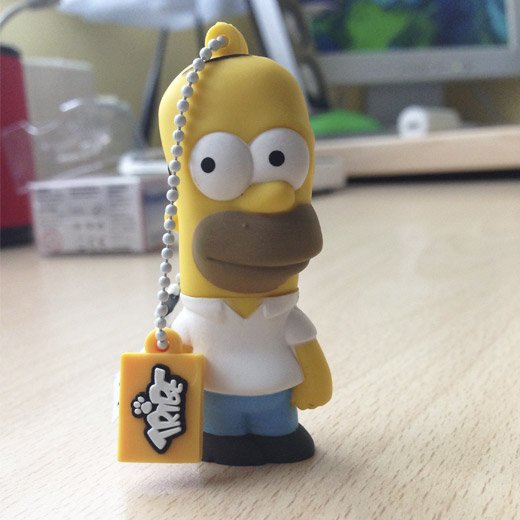 Tribe Pen Drive The Simpsons Homer 8GB