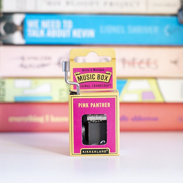 Caixa de Música Pantera Cor-de-rosa