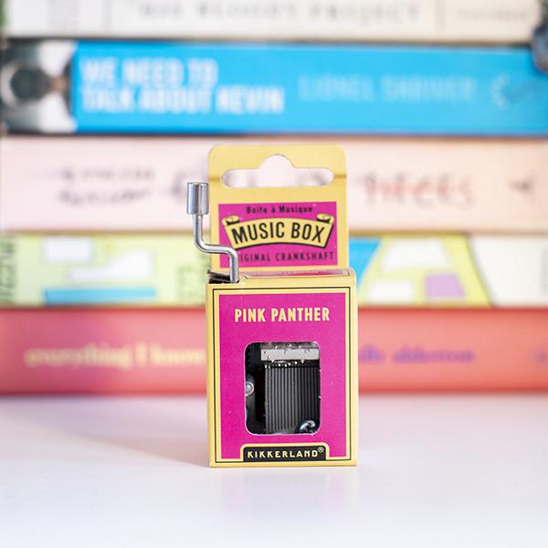 Caja de Música Pink Panther