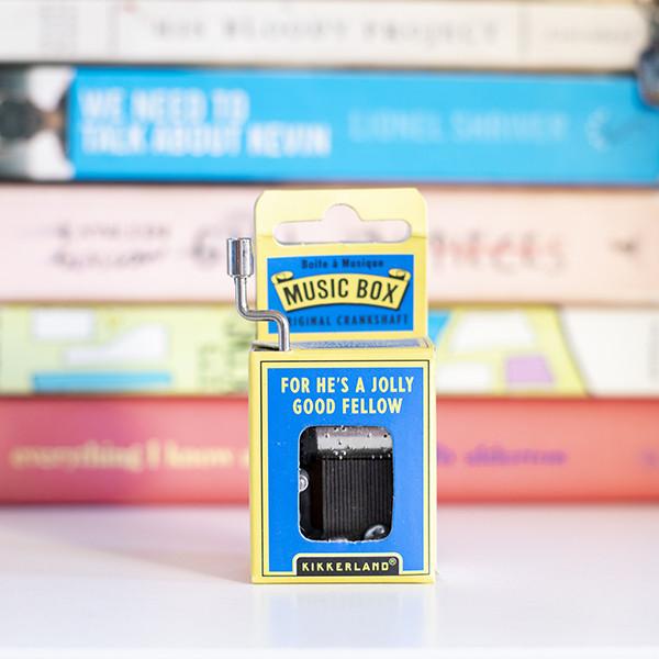 Caixa de Música For He's a Jolly Good Fellow