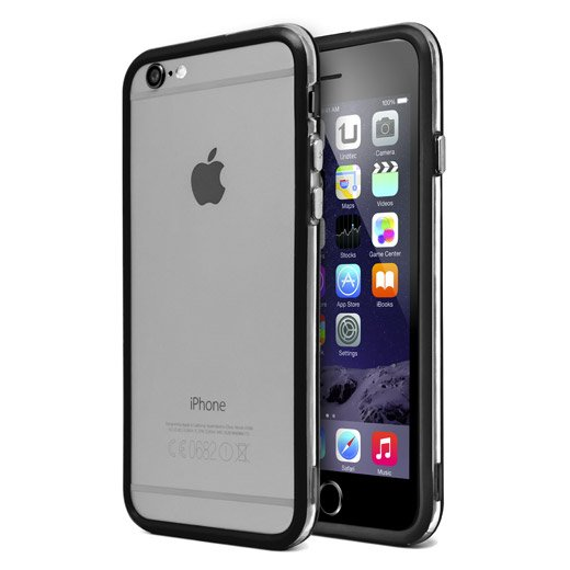 Funda Bumper Negra para iPhone 6 Plus