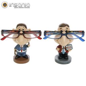 Porta-Óculos Homem de Negócios