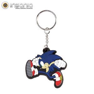 Llavero de Goma Sonic