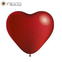 Balões Coração Vermelho (Pack 8)