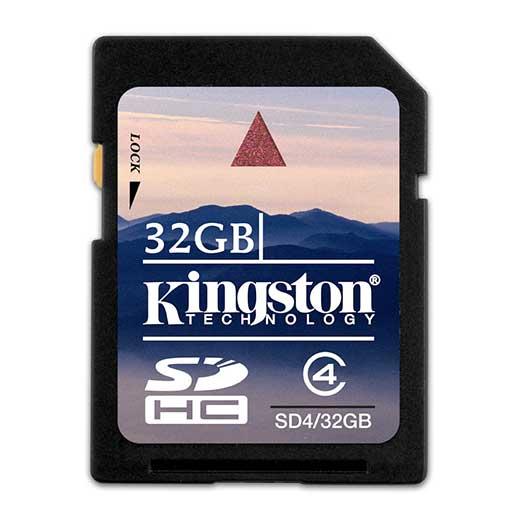 Cartão Kingston SD 32GB