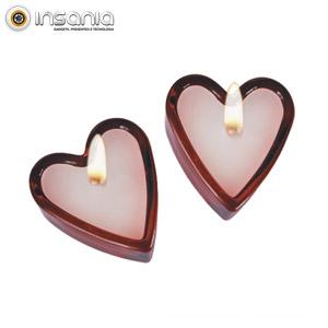 Velas Perfumadas Coração (Pack 2)