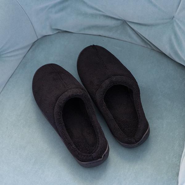 Zapatillas Relax de Gel Negro