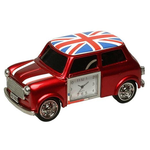 Relógio Carro Pequeno Vermelho